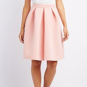 NEW Full Pleated Scuba Skirt
